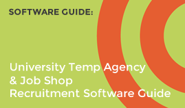 University Temp Agency & Job Shop Software Guide